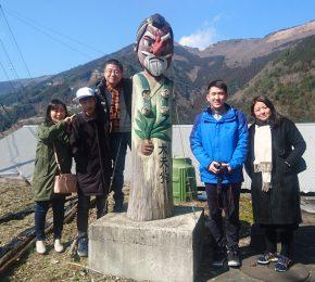 中国から、大歩危・祖谷のかずら橋・祖谷渓谷・小便小僧・妖怪屋敷